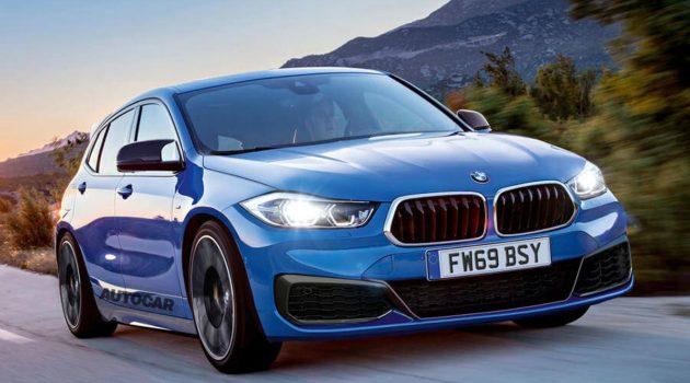 BMW M135i 确认搭载2.0L涡轮引擎,最大马力301 hp!