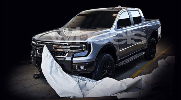 Ford Ranger 大改款疑似曝光,阳刚设计非常man!