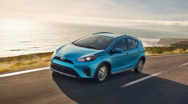 Toyota Prius C 成为 Consumer Reports 最可靠车款第一名!