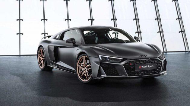 向 V10 致敬, Audi R8 V10 Decennium 特别版登场!