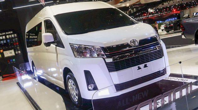 BIMS 2019 :新一代 Toyota Hiace Commuter 实车现身!