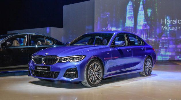 2019 BMW 3 Series G20 登陆我国,售价 RM 328,800
