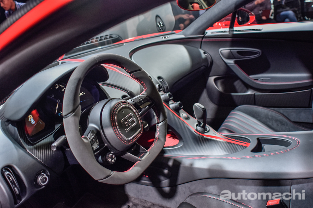 Bugatti Chiron 东南亚首个车主诞生!它是来自。。。