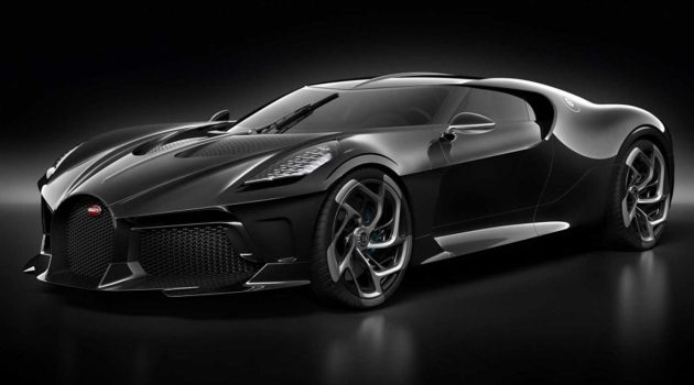 Bugatti La Voiture Noire 正式发表,史上最贵的黑车?