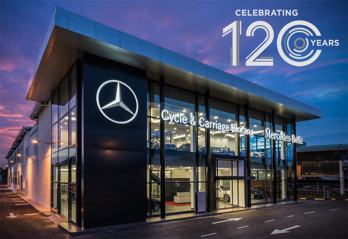 买奔驰送旅行! Cycle-Carriage Bintang 推出120周年购车优惠!