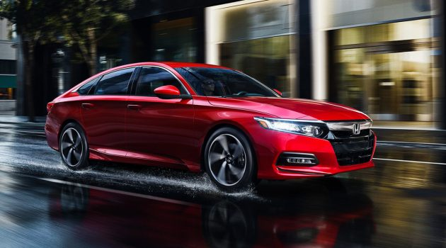 泰规 2019 Honda Accord 规格出炉,3月曼谷车展见!