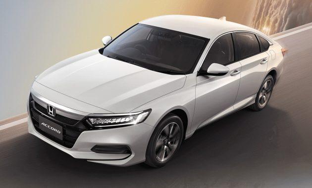 泰规 2019 Honda Accord 正式发表,售价RM 19万起跳!