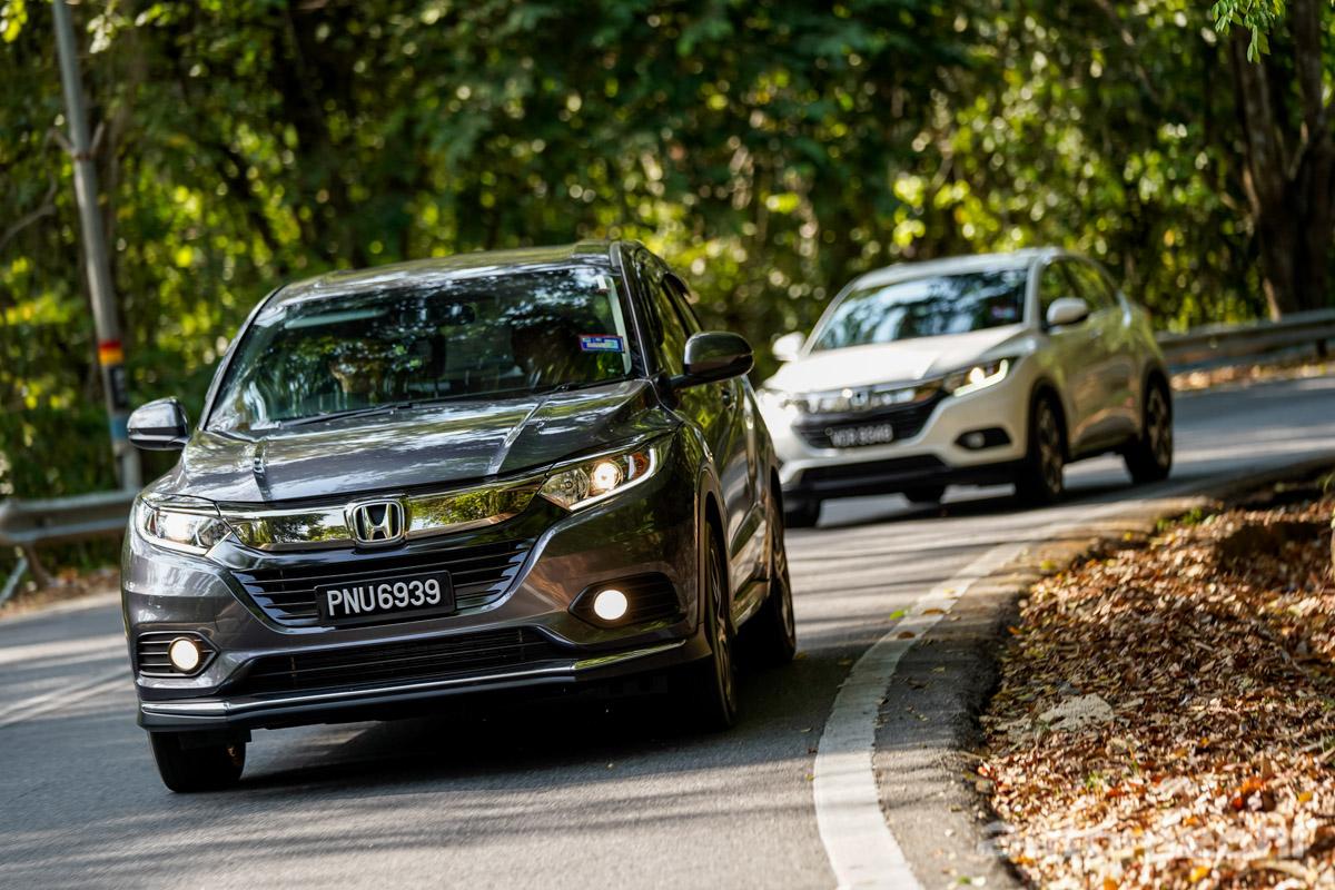 Honda HR-V Hybrid ,谁说节能就不能运动化?