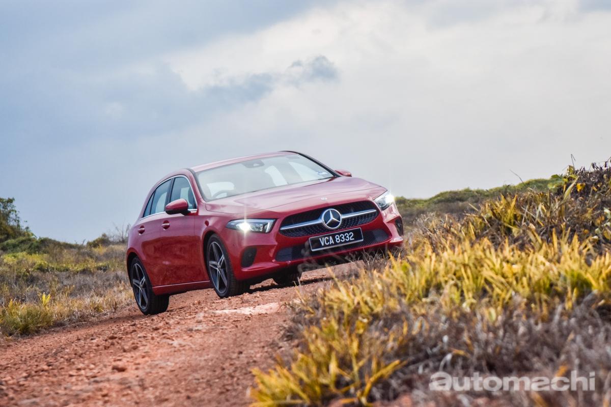Mercedes-Benz A200 W177 ,省油的程度出乎预料
