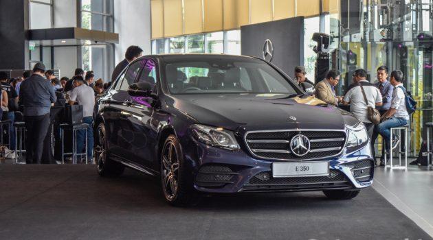 Mercedes-Benz E350 AMG-Line 登场,售价RM 399,888
