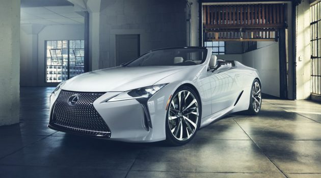 Lexus LC Convertible Concept 日内瓦车展绝美登场!