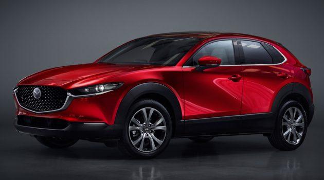 Mazda 全新 Crossover 发布,取名 Mazda CX-30 !