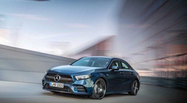Mercedes-AMG A35 Sedan 登场,302 Hp够用吗