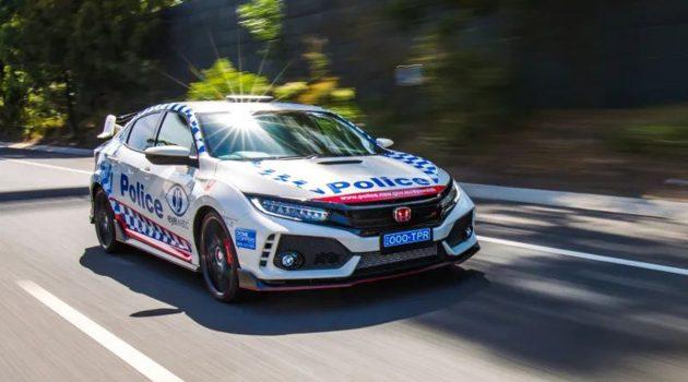 Honda Civic FK8 成为澳洲的警车!大马也会跟进?
