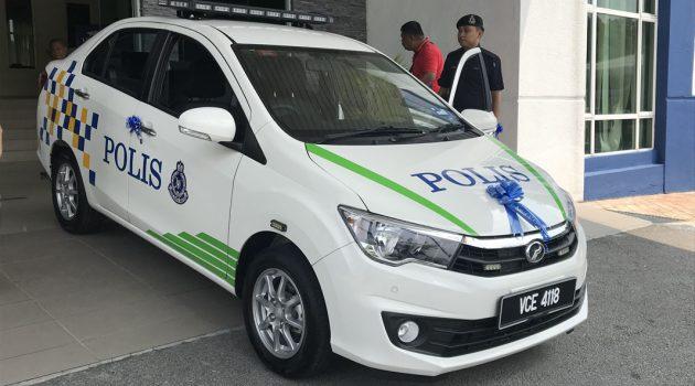 Perodua 提供,三台 Perodua Bezza 将入列成为 IPK Selangor 巡逻车!