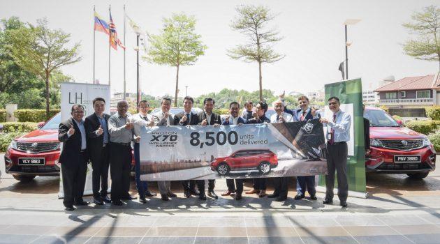Proton 100天内移交 8,500 辆 Proton X70 !