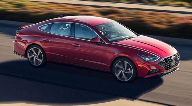 2020 Hyundai Sonata 1.6 Turbo 登场,最大马力达180 Hp
