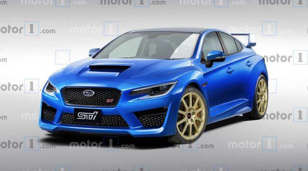 街头霸王继承车,新一代 Subaru WRX STI 长这样?