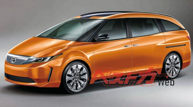 Toyota Estima 后继有望?新一代车型2021年登场!