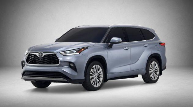 2020 Toyota Highlander 官图公布,更帅气的7人座SUV!