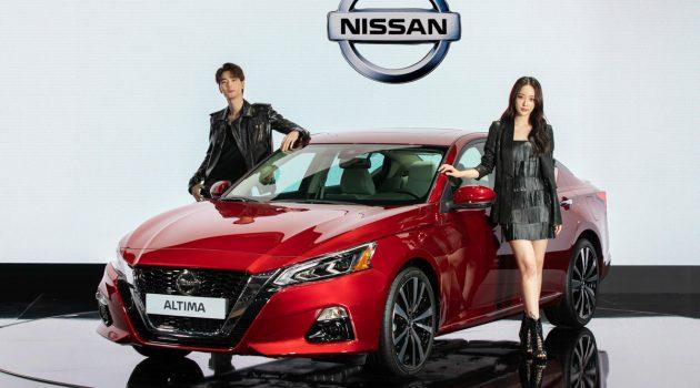 2019 Nissan Altima 韩国发表,几时轮到马来西亚?
