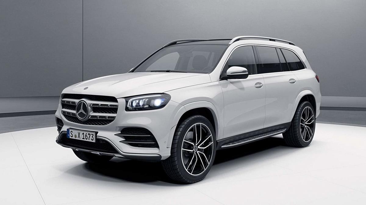 2020 Mercedes-Benz GLS 发表前真面目曝光!