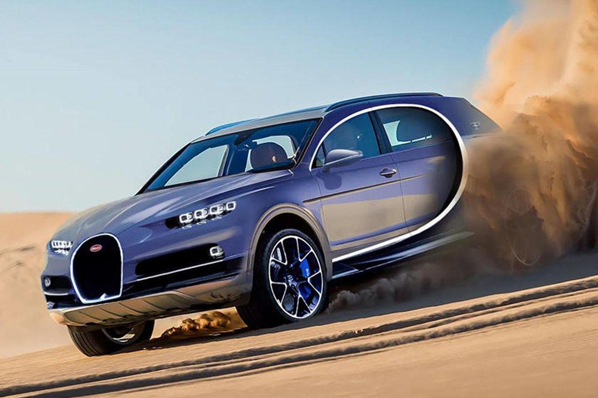 Bugatti 计划开发双门 Crossover ,最大马力超千匹!
