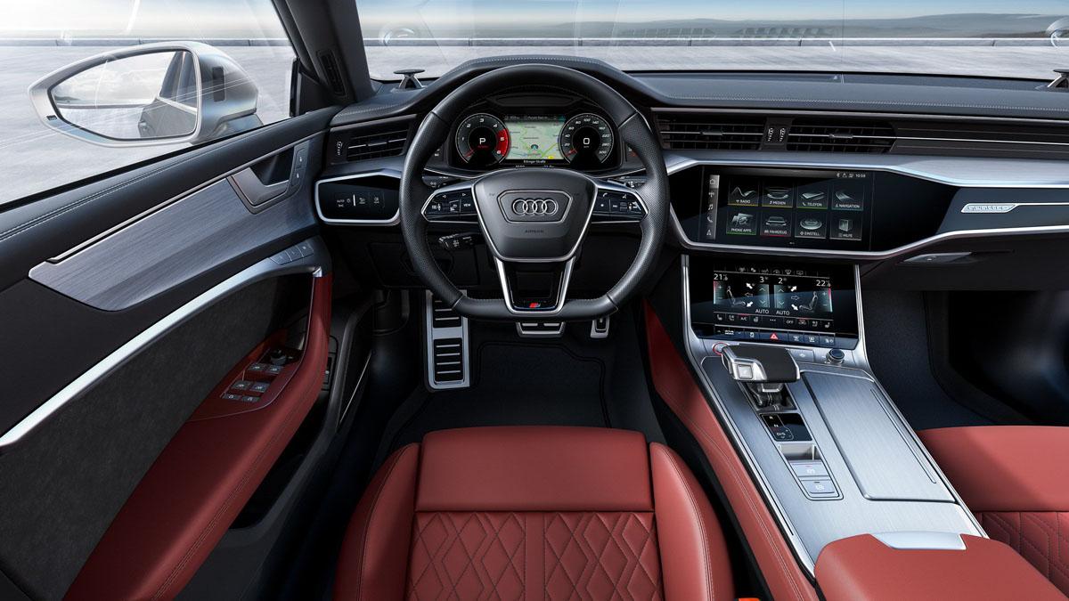 Audi S6 以及 Audi S7 正式登场,最大马力444 Hp!