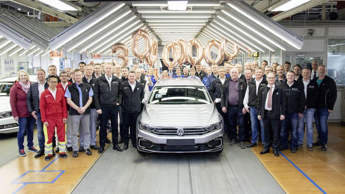 Volkswagen Passat 全球累计产量破3000万