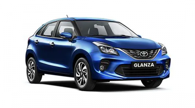 Toyota Glanza 谍照首次现身,全新的掀背车型!