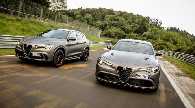 热血爱快! Alfa Romeo Giulia 与 Stelvio NRING 登场!