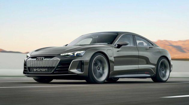 3.5秒破百, Audi E-Tron GT 成钢铁人最新座驾!