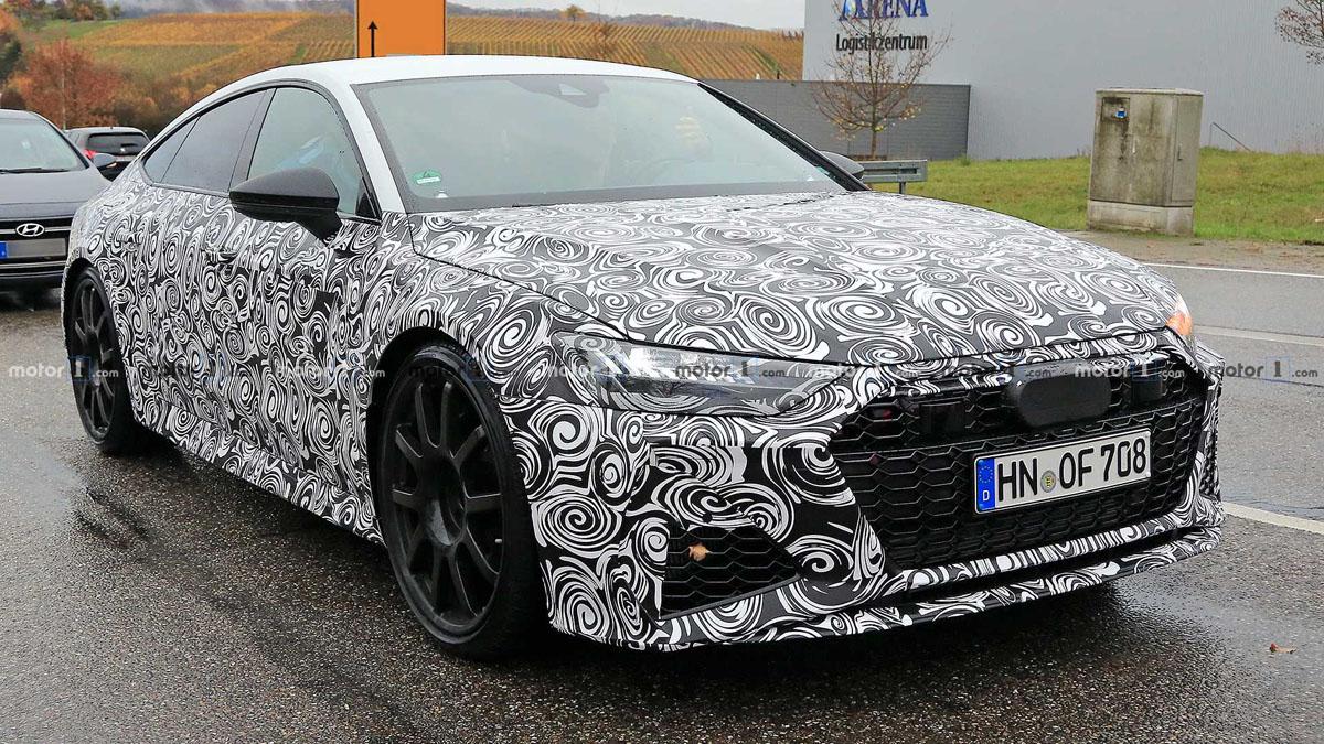 Audi RS7 现身,或搭V8双涡轮增压引擎!