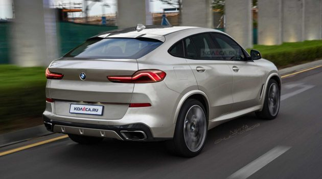 预计今年正式发表,新一代 BMW X6 假想释出!