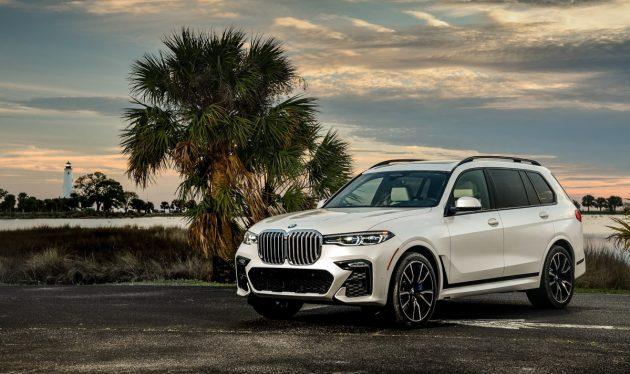 霸气侧漏! BMW X7 旗舰 SUV 官图出炉!