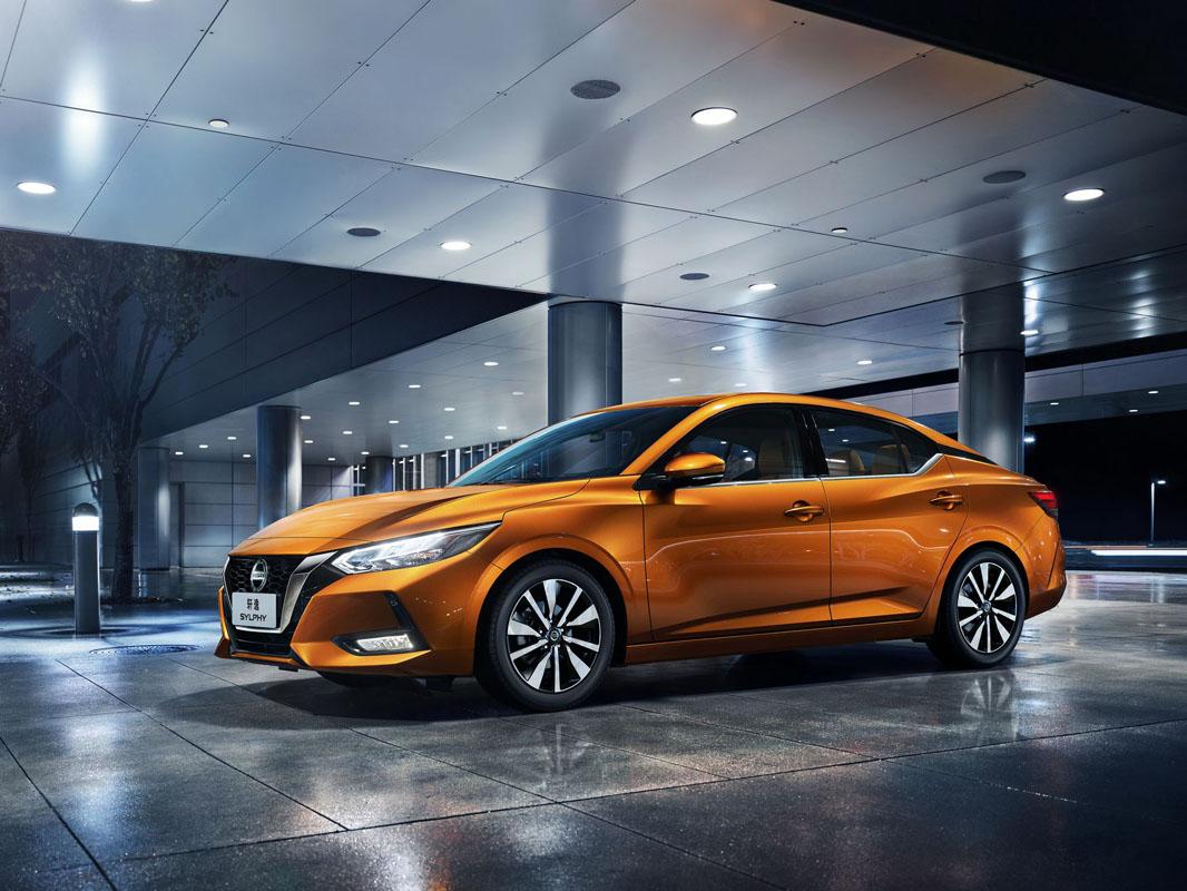 2019上海车展: Nissan Sylphy 大改款正式亮相!
