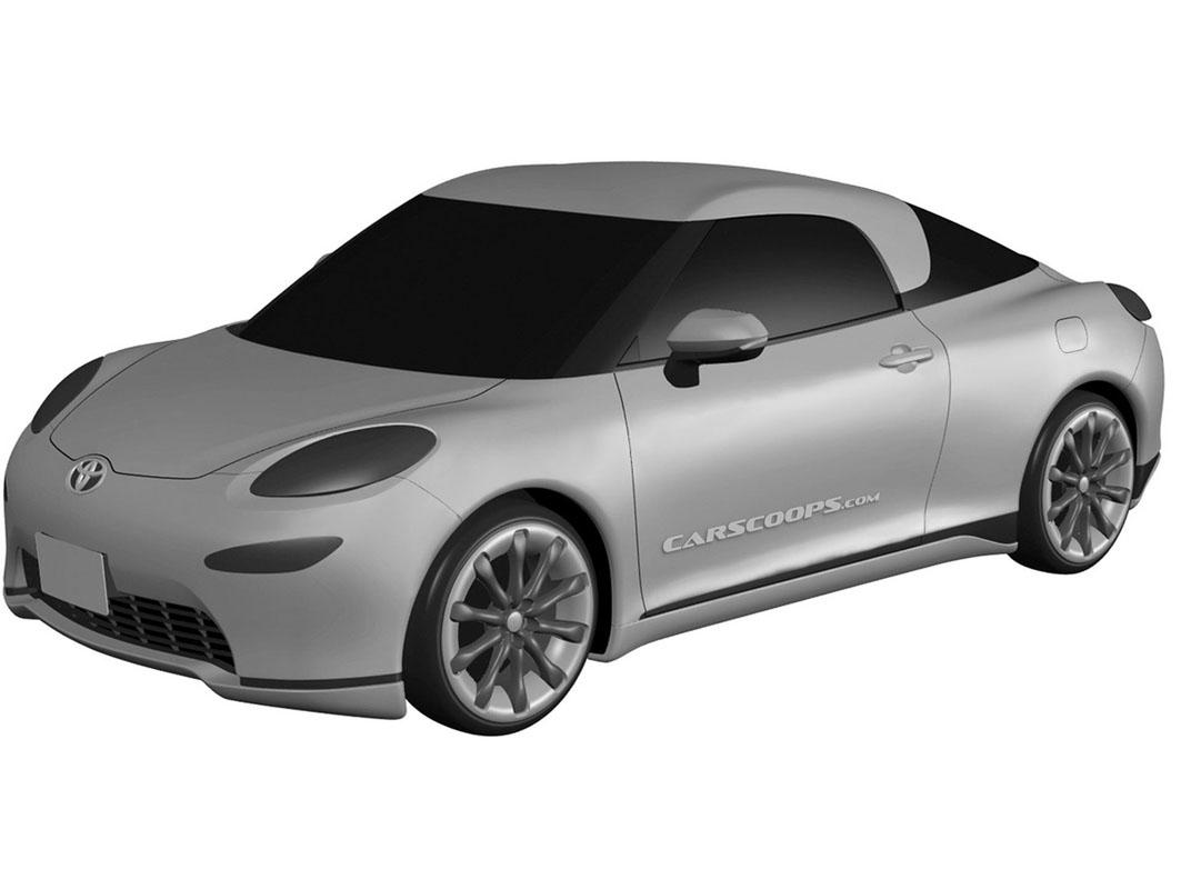 Toyota La Coupe 实车现身,下代 MR2 是这个样子?