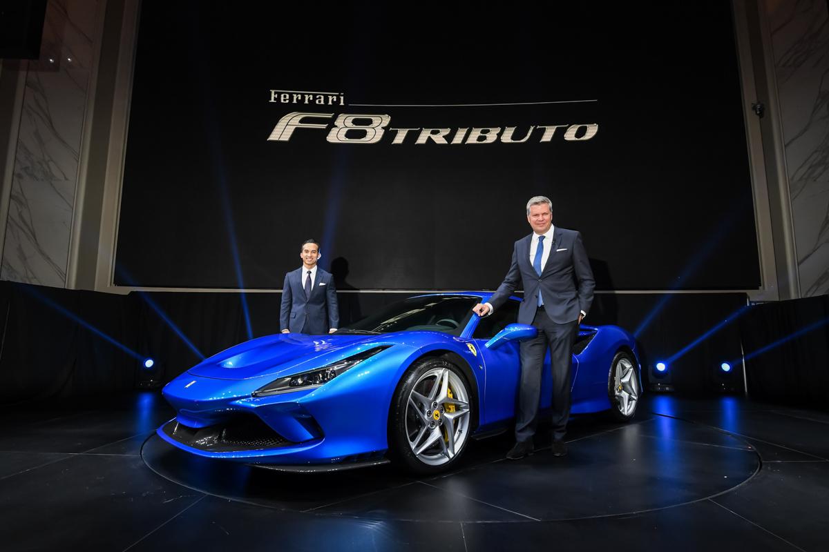 Ferrari F8 Tributo 登陆我国,售价 RM 1,068,000 !