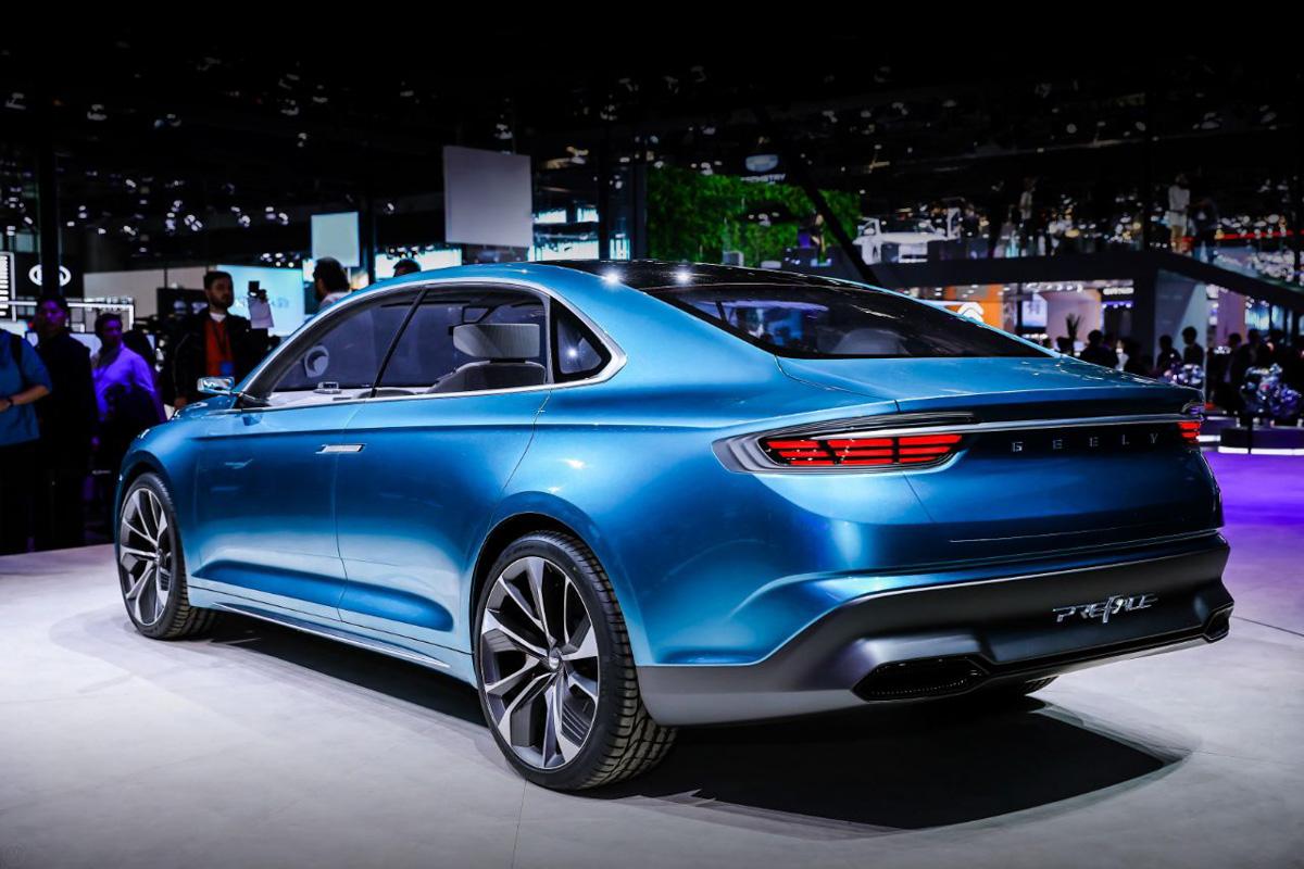 2019上海车展: Geely 展示多款新世代引擎!