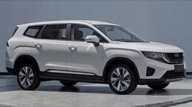 全新7人座 SUV 要来了? Geely VX11 外形曝光!