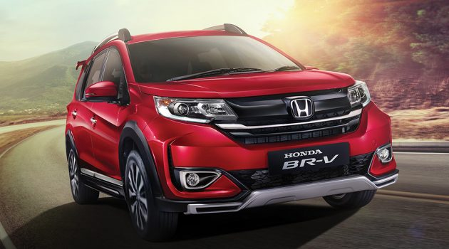 小改款 Honda BR-V 印尼发表,配备小提升!