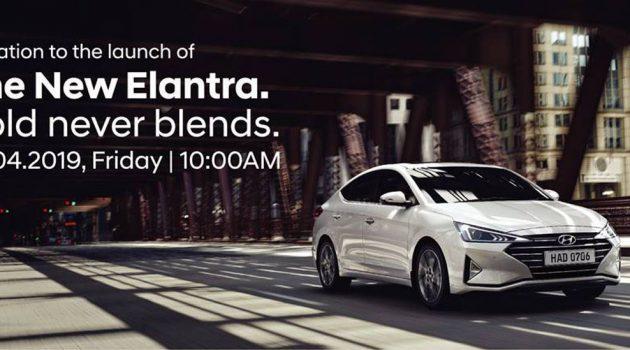 2019 Hyundai Elantra 确定4月19日正式发布!