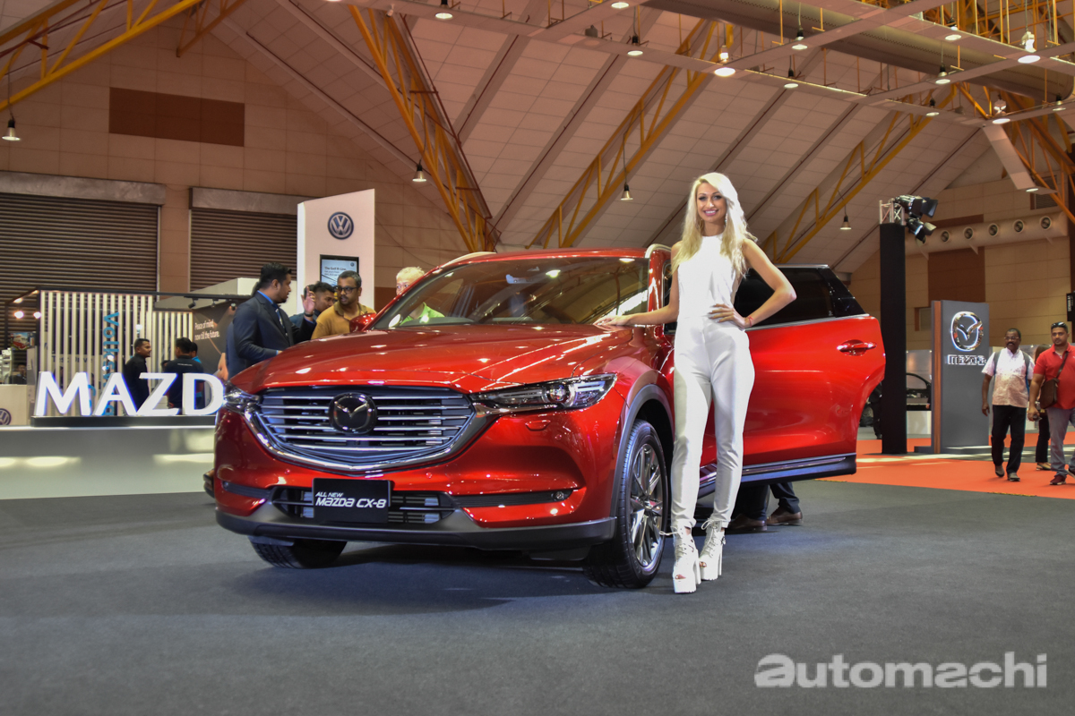 Malaysia Autoshow 2019 : Mazda CX-8 现身预览!