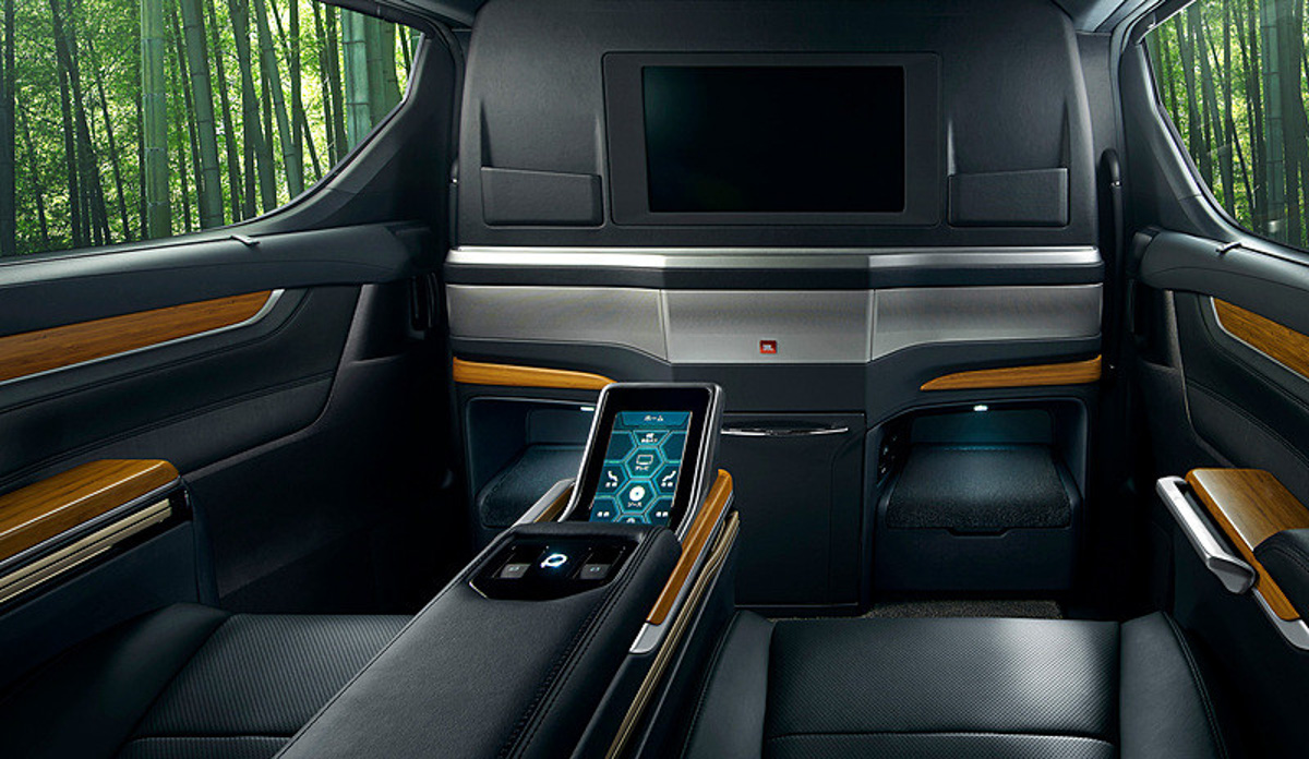 豪华版 Alphard ! Lexus LM 350 长这样?