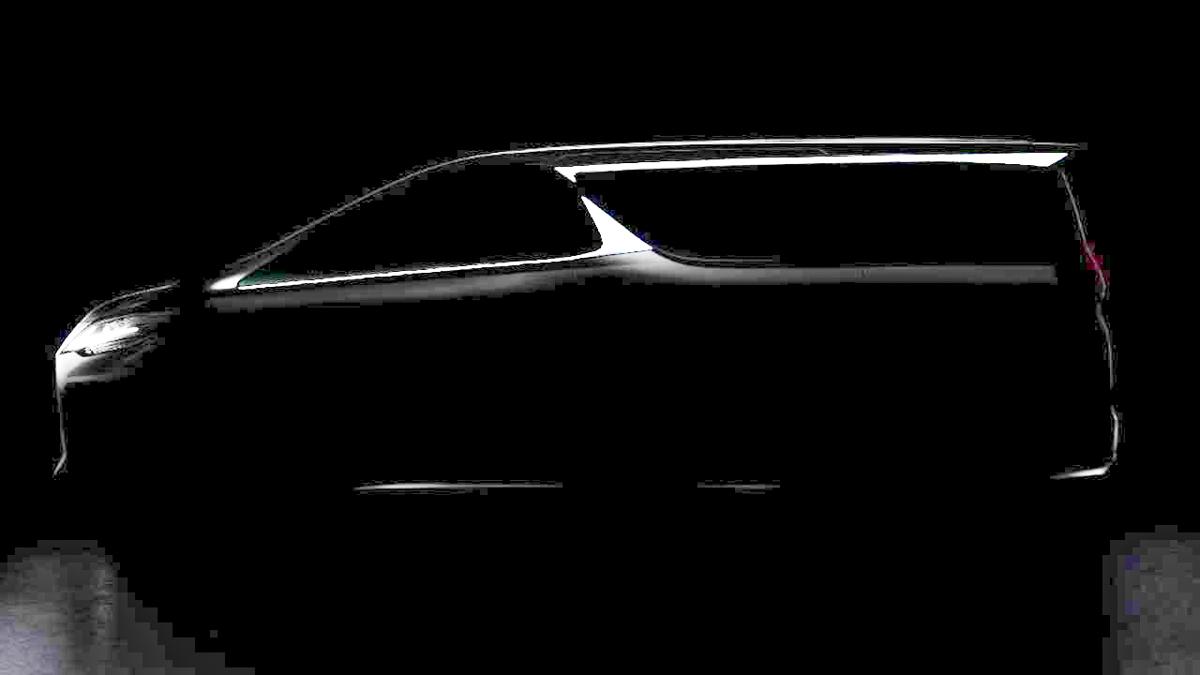 最新预告图出炉,Lexus LM 确认是 Alphard 兄弟车!