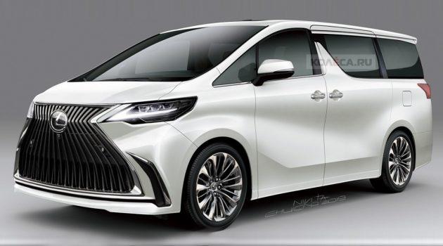 最新预告图出炉, Lexus LM 确认是 Alphard 兄弟车!