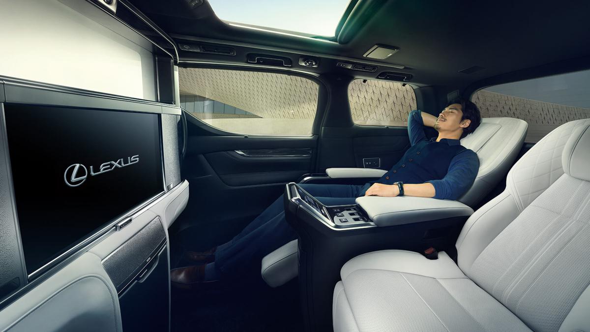 现身2019上海车展, Lexus LM 正式发表!