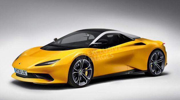 Lotus 全新跑车2020年登场,涡轮引擎+双电动马达