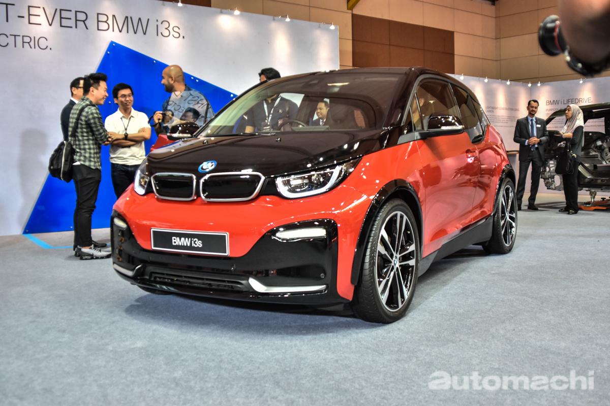Malaysia Autoshow 2019 : BMW i3s 正式发表!