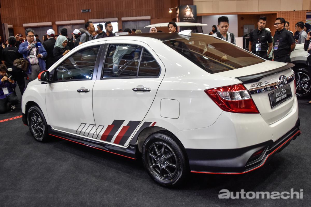 Malaysia Autoshow 2019 : Perodua Bezza Limited Edition 登场!